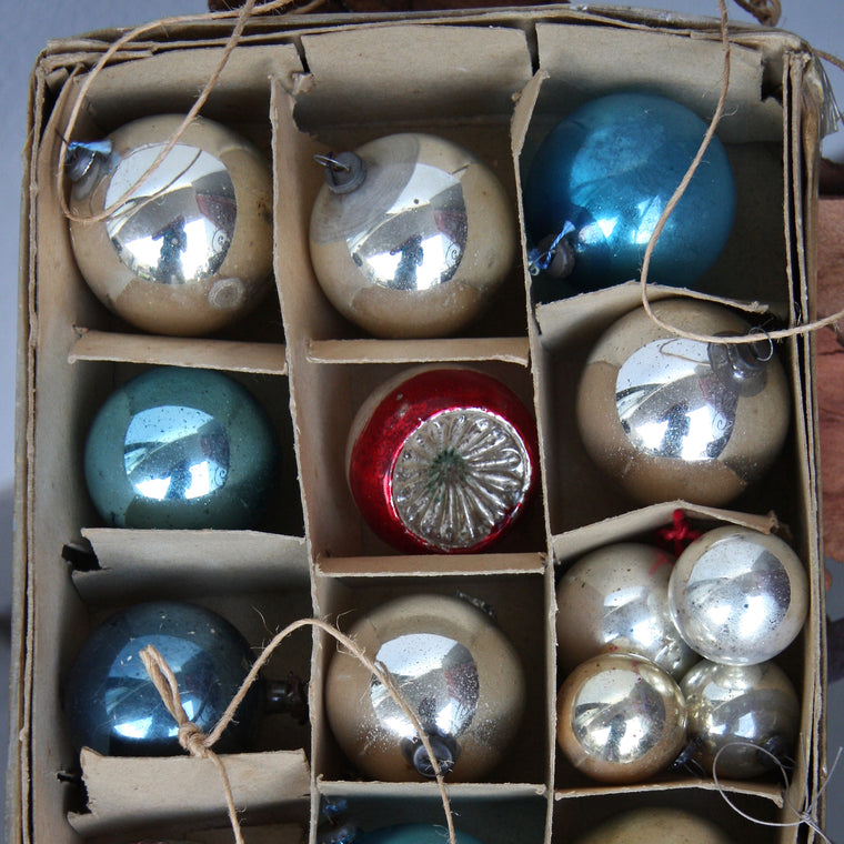 Vintage Christmas Baubles From $6 each