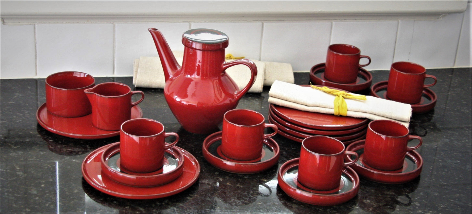 1970's Vintage European Coffee Set