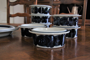Vintage Arabia of Finland 8 piece Serving Set.