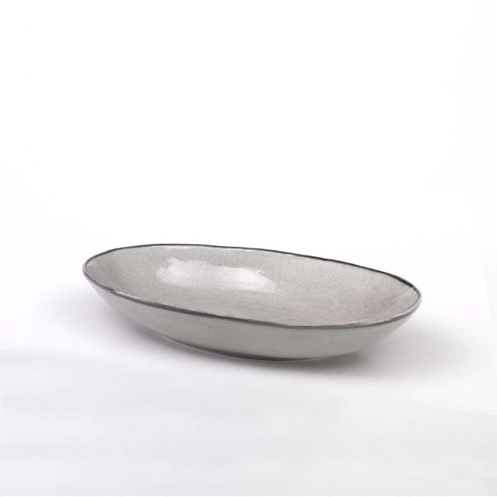 JUTA oval pasta plate set of 6