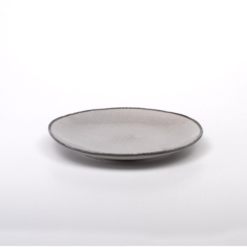 JUTA round dessert plate set of 6