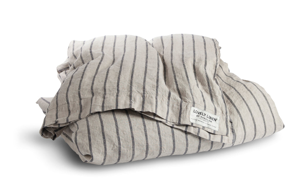 Lovely Linen - Misty Duvet Cover