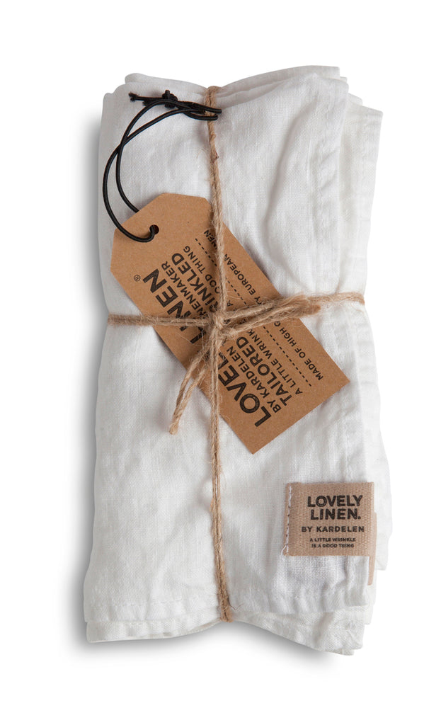 Misty Linen napkins (set of 4)