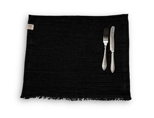 Rustic Linen Runners and Placemats