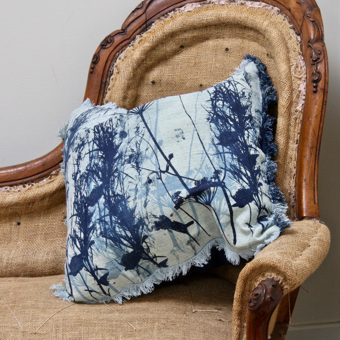 Jeans Decor Cushion - complete with insert