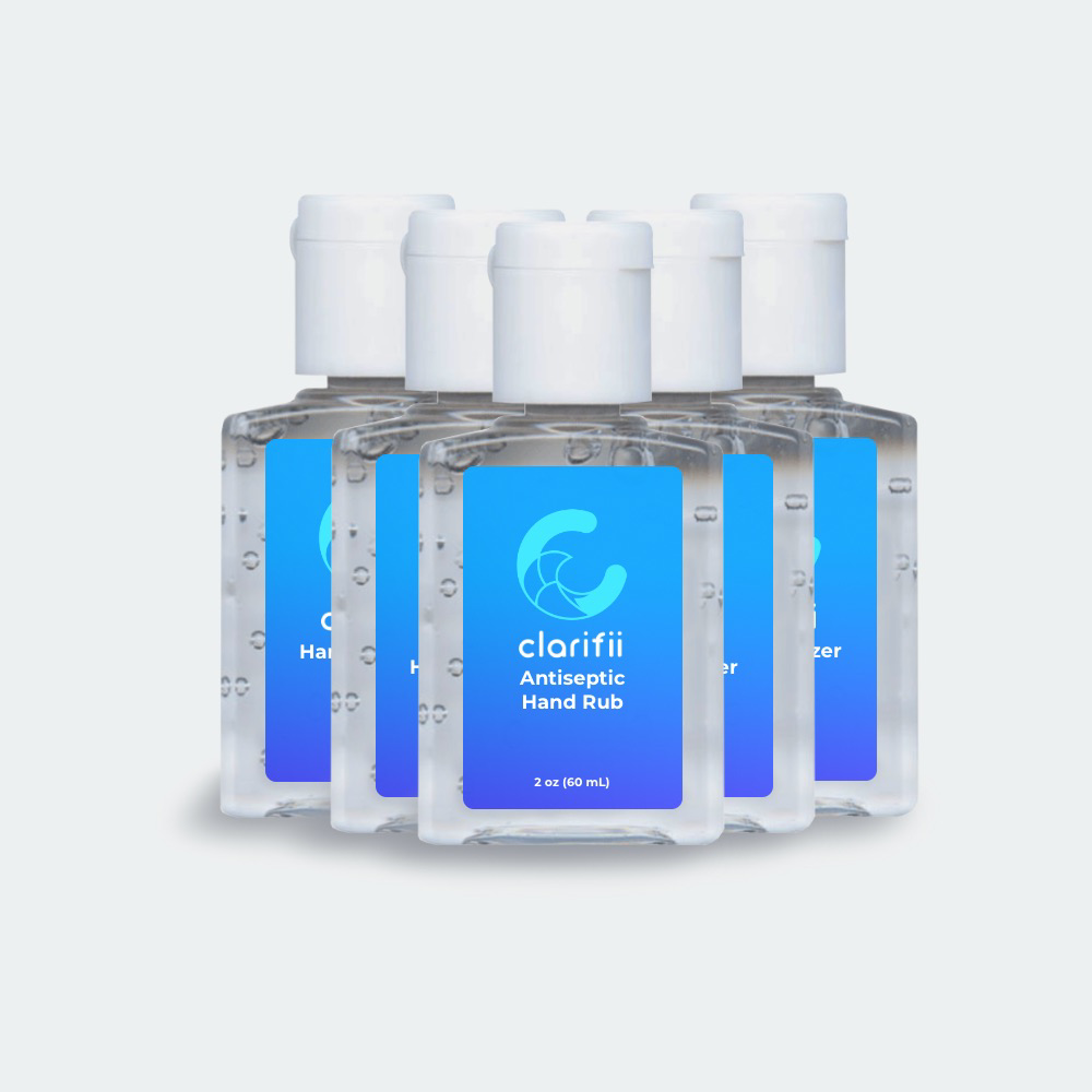 Antiseptic Alcohol Hand Cleanser 5-Pack | 2oz