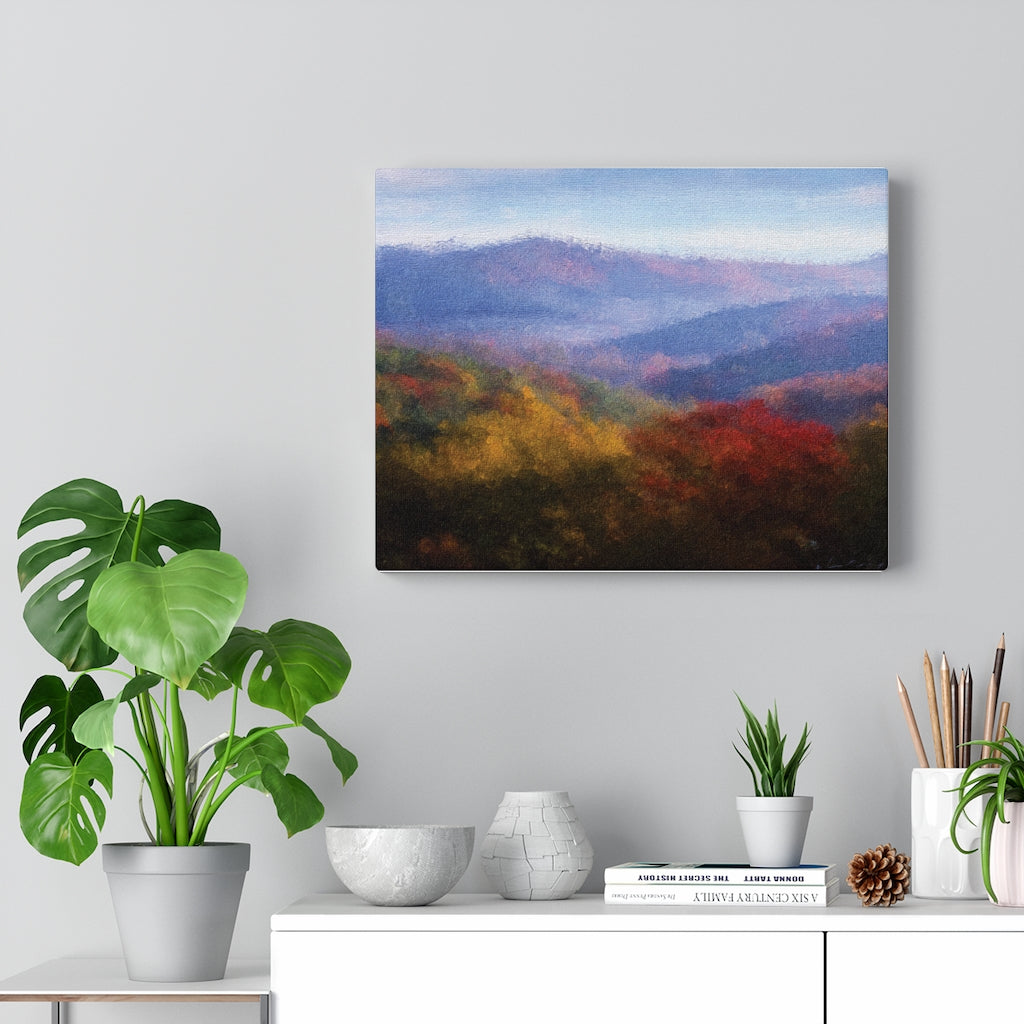 LAYERS OF HEAVEN - canvas giclee