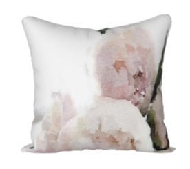 L Rempel Art - Velvet Pillow Covers | Functional Watercolor Art for Your Home - SWEET MOMENTS