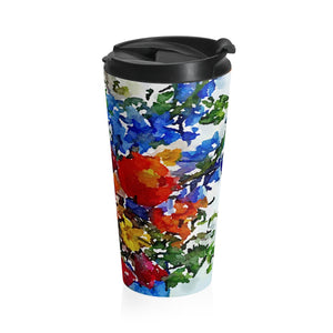 Hotlanta floral Stainless Steel Travel Mug
