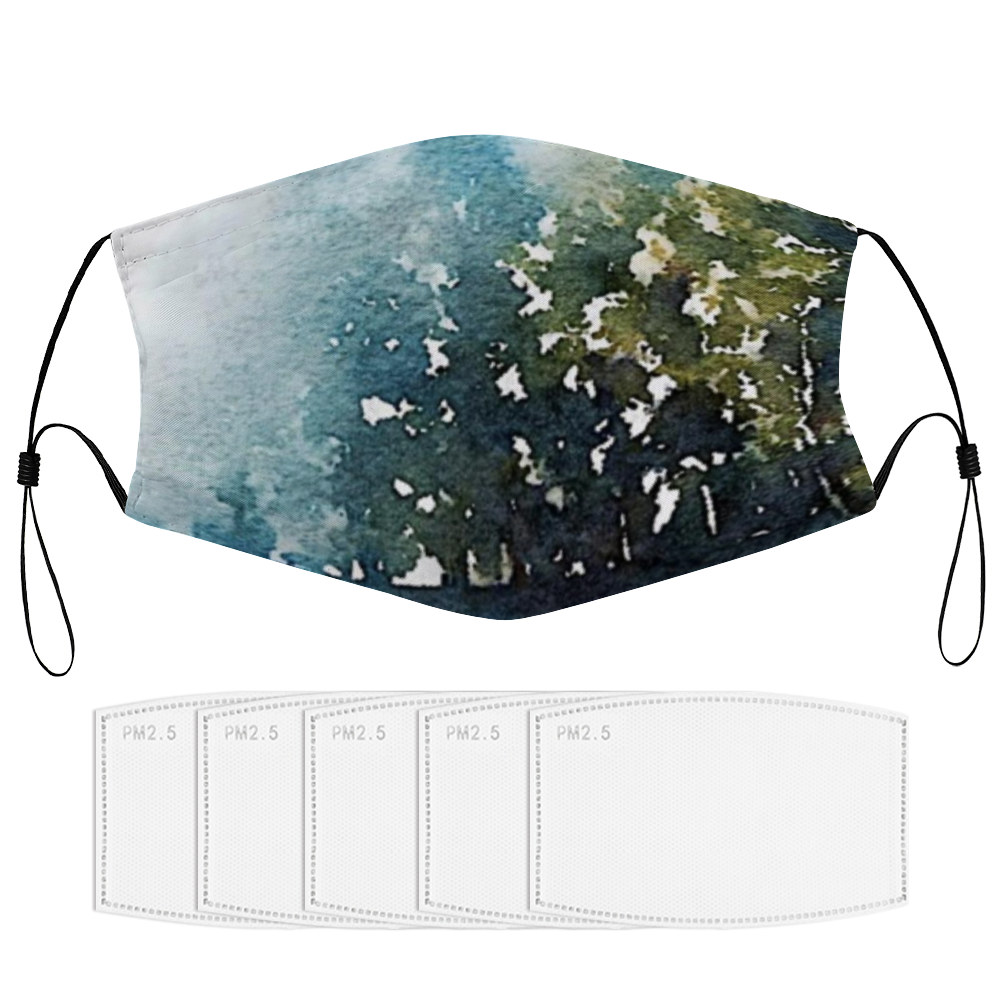 KANANASKIS Face Masks Dust Mask with Filter Element, Multiple Spare Filter Cartridges