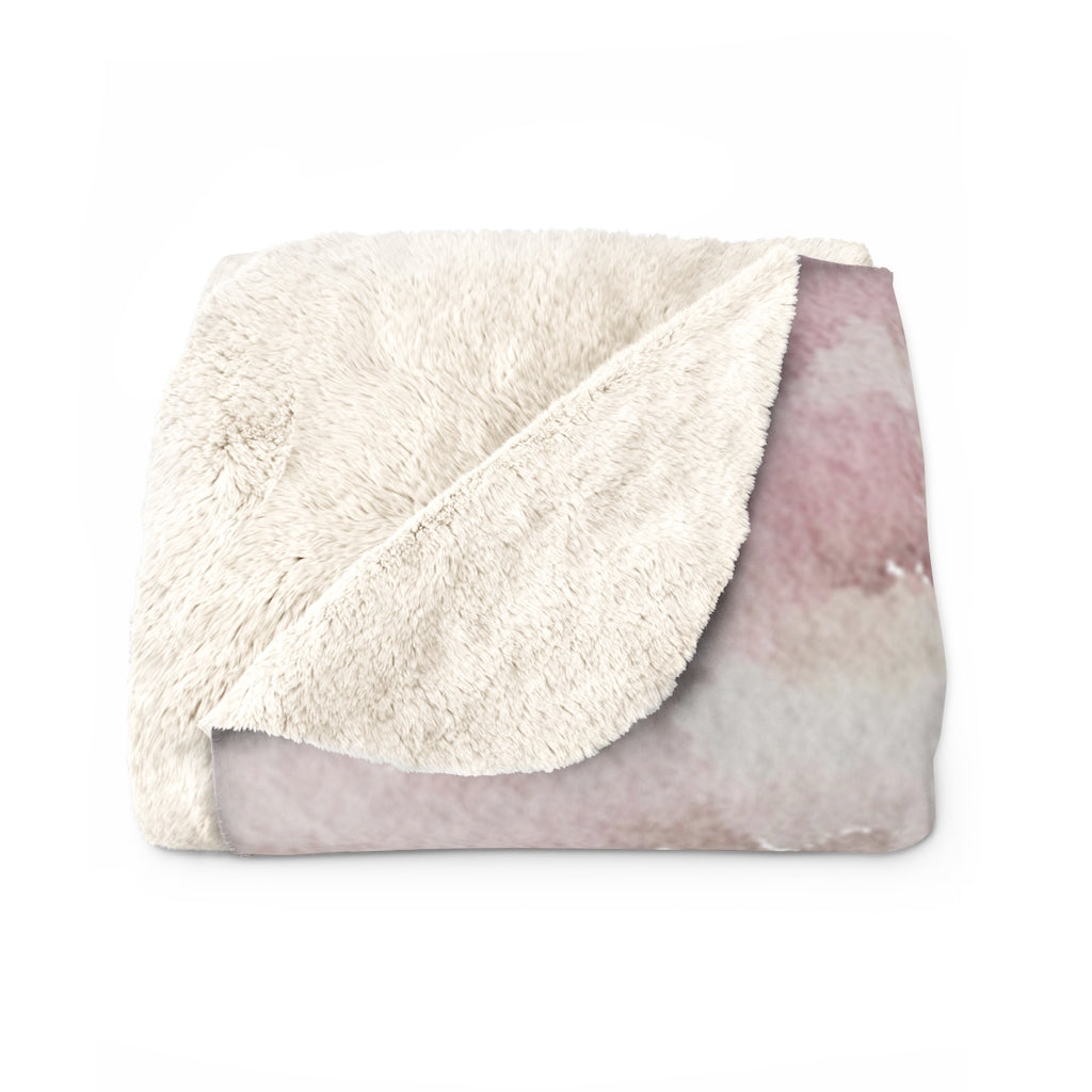 Sweet Moments Sherpa Blanket