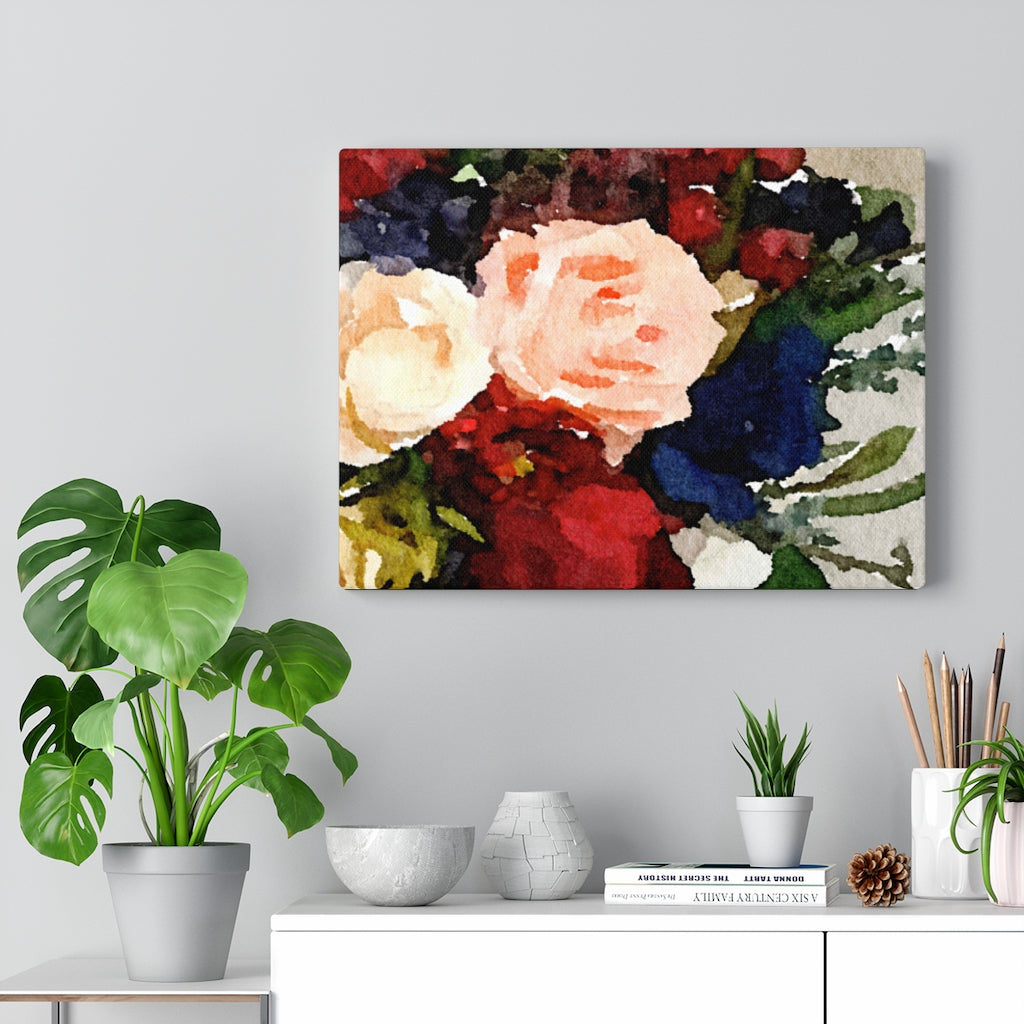 Flowers For Lee - Canvas Gallery Wraps