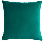 "Emerald Velvet Pillow - 18""x18"""