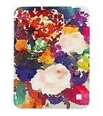 CIRCUS FLOWERS Art Baby Blanket