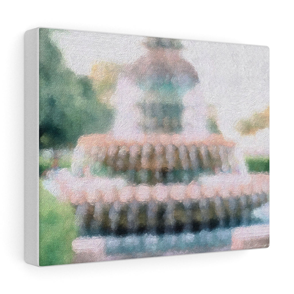 PINEAPPLE FOUNTAIN- Canvas Giclee