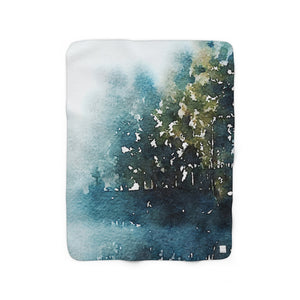 Kananaskas Sherpa Fleece Blanket