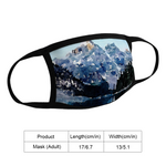 Cool Waters Mountain Masks for Women and Men