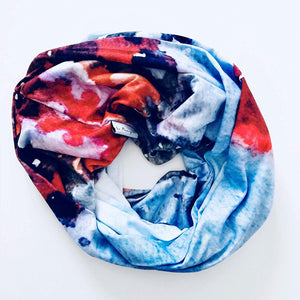 Spring Mountain Infinity Scarf
