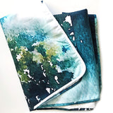 L Rempel Art - Artist Baby Blanket | Functional Original Watercolor Art for Your Baby, Toddler, or Young Child - KANANASKIS