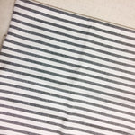 "Large Cotton Stripe Pillow - 22"" x 22"""
