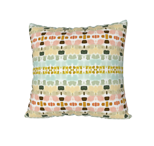 "Dash Art Pillow - 18""x18"""