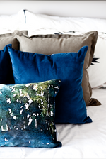 "Westcott Navy Pillow - 18""x18"""