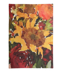 Sunflowers FALL Tea Towel