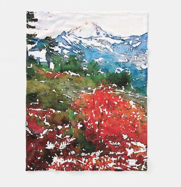 New!! RED WILD - Tea Towel