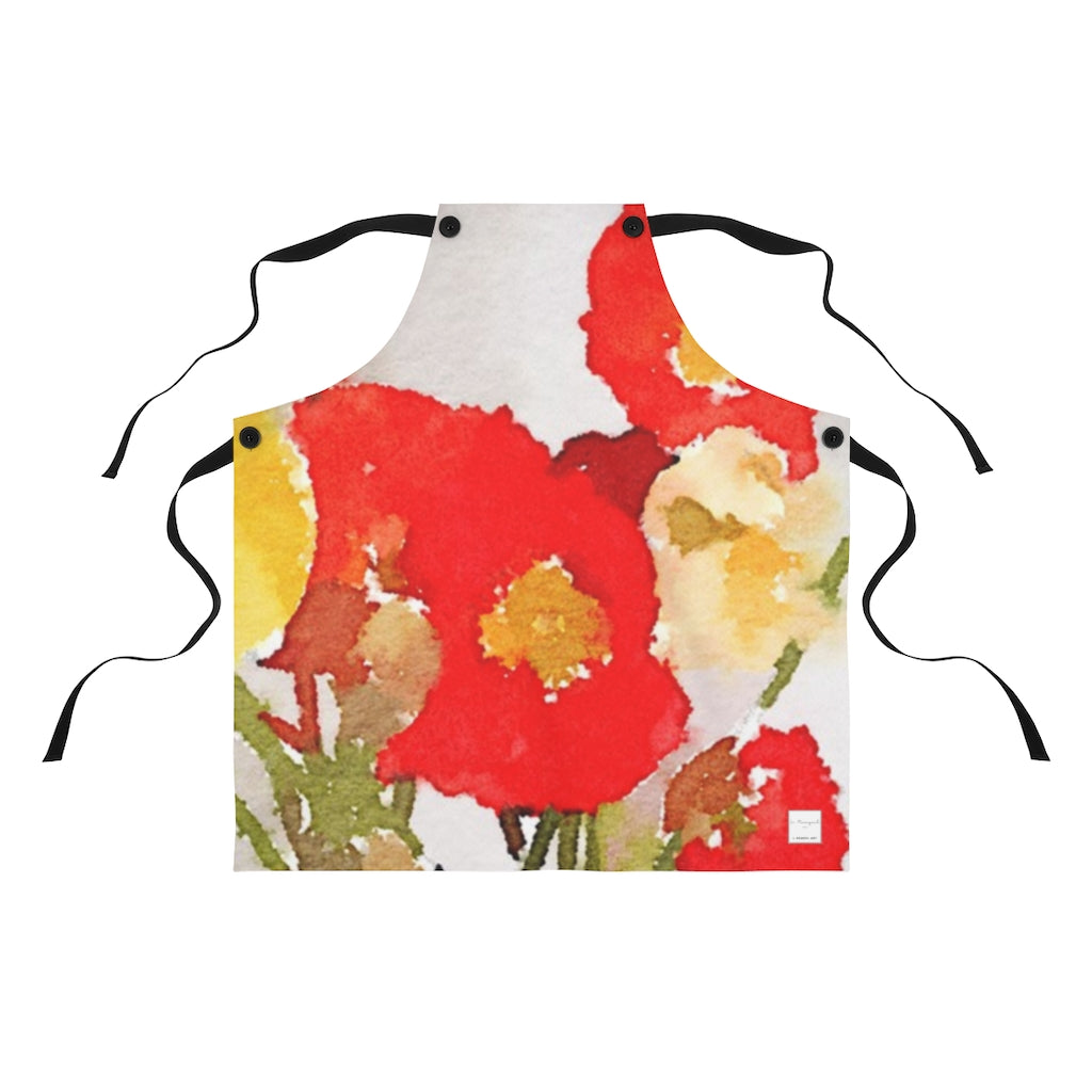 Poppies - Apron