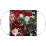Foxglove Red Floral -Face Mask Covers