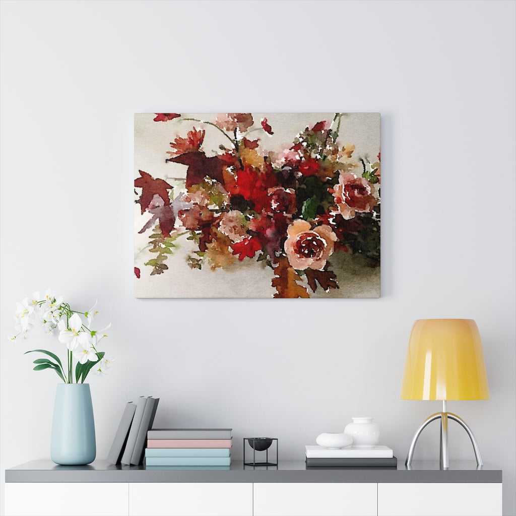 Maple Watercolor- Canvas Gallery Wrap