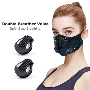 Mesh Kananaskis Face Mouth Mask Outdoor Protective Mask KN95