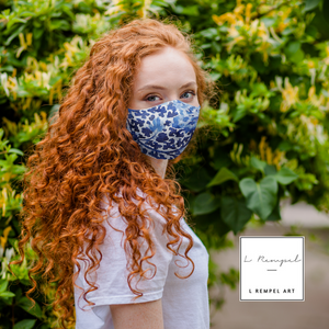 COOL WATERS Mountain Face Masks Dust Mask with Filter Element, Multiple Spare Filter Cartridges