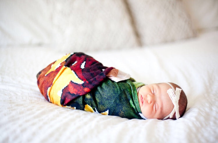 *New SUNFLOWER Swaddle Blanket
