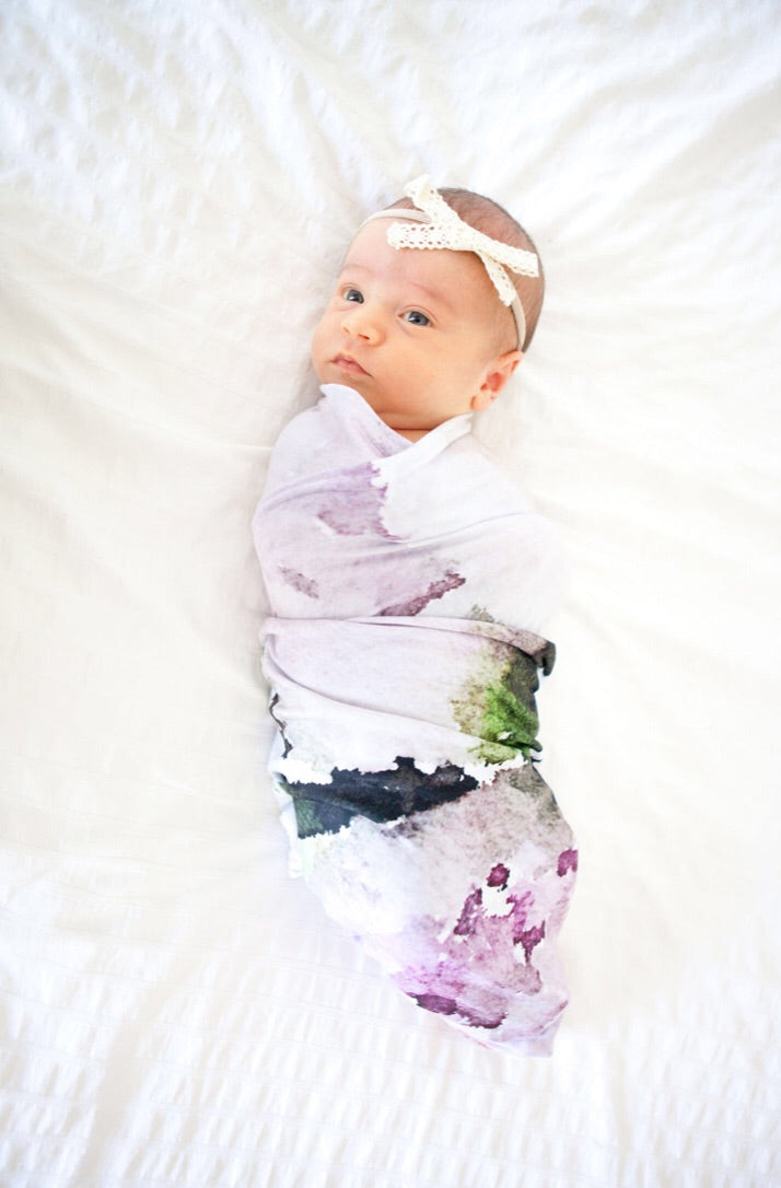 *New SWEET MOMENTS Swaddle Blankets