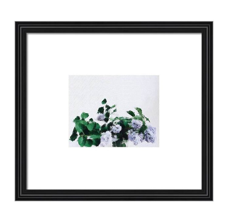 Lilacs Oil painting-Professional Prints