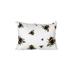 Cutest Little Bee Velvet - pillow case