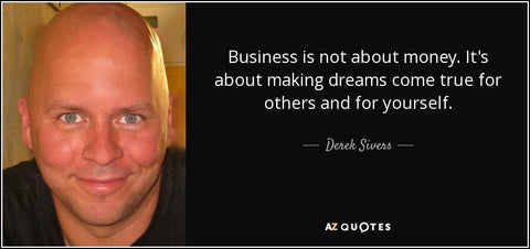 business isn't about money quote