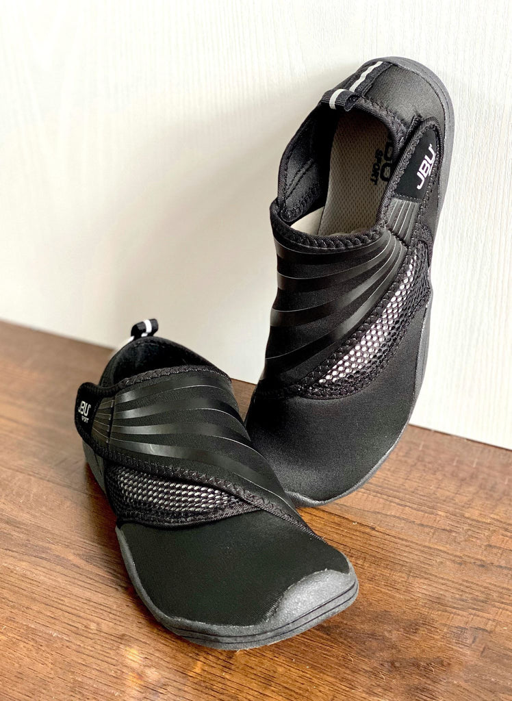 Jambu Black Mesh Slip On Water Shoes