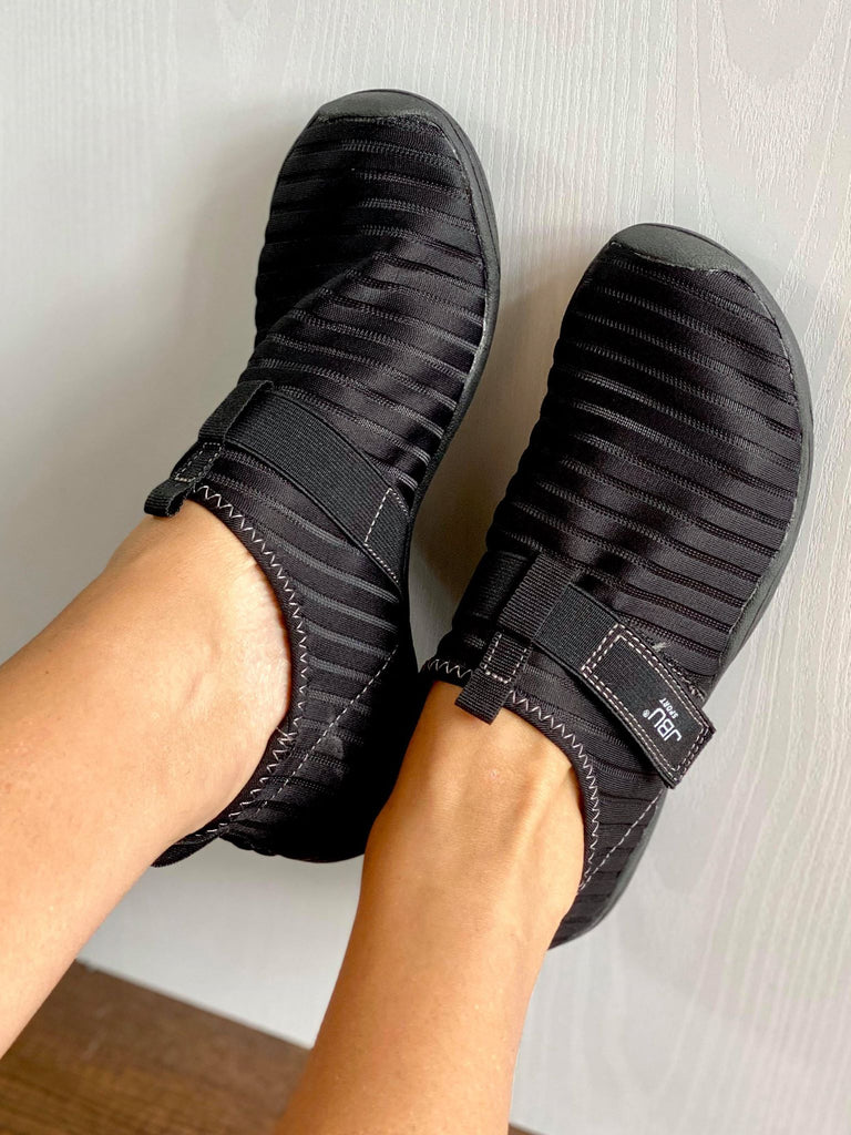 Jambu Black Slip On Water Shoes