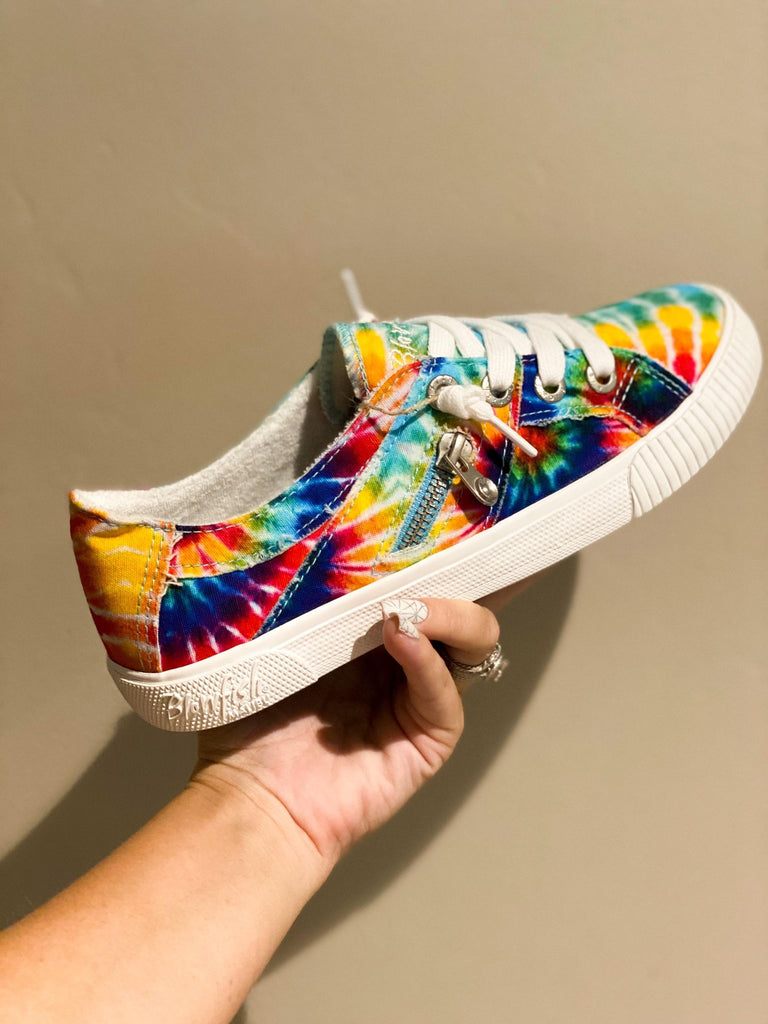 Blowfish Tie Dye Comfort fit Sneaker Shoes