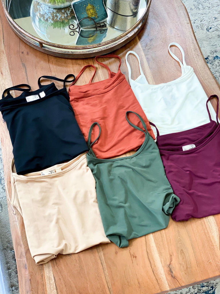 Buttery Soft Various Color Cami Tank Top