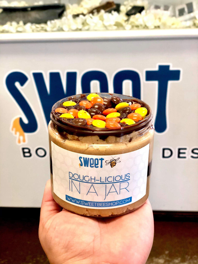 Sweet Bee Dough-licious in a Jar