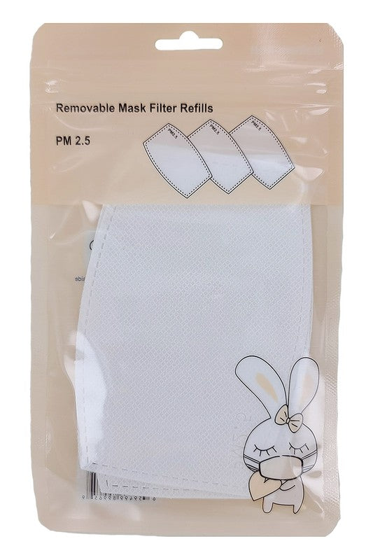 3 Pk Face Mask Filters