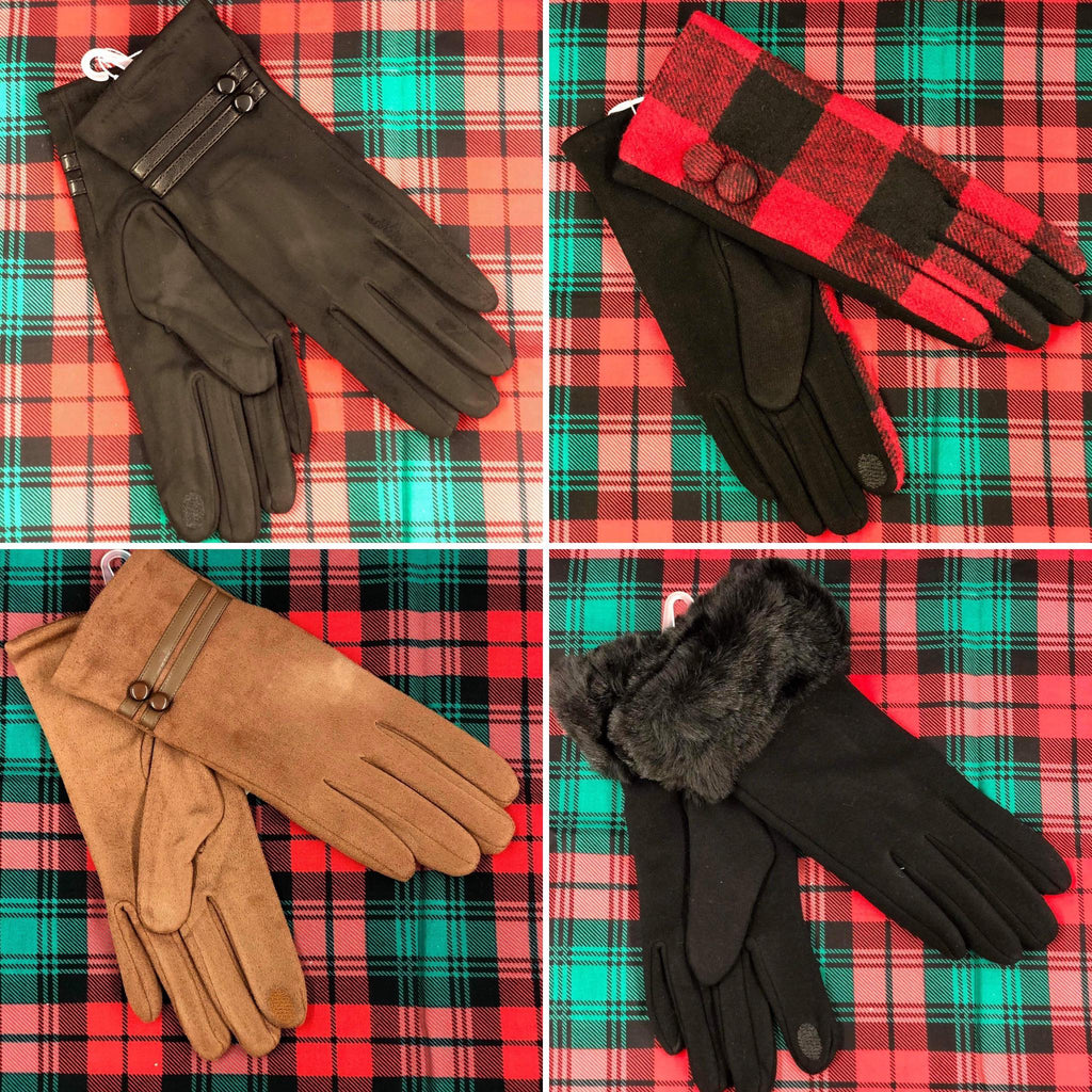 Stylish Touchscreen Compatible Gloves