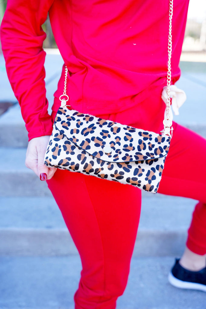 Leopard Adjustable Cross Body & Fanny Pack