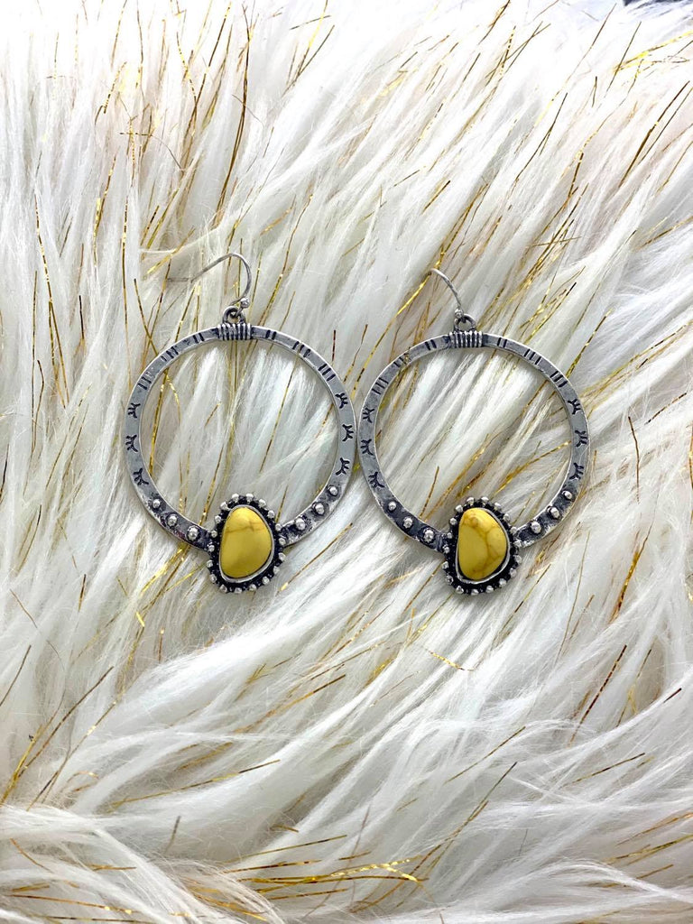Yellowstone Hoop Earrings