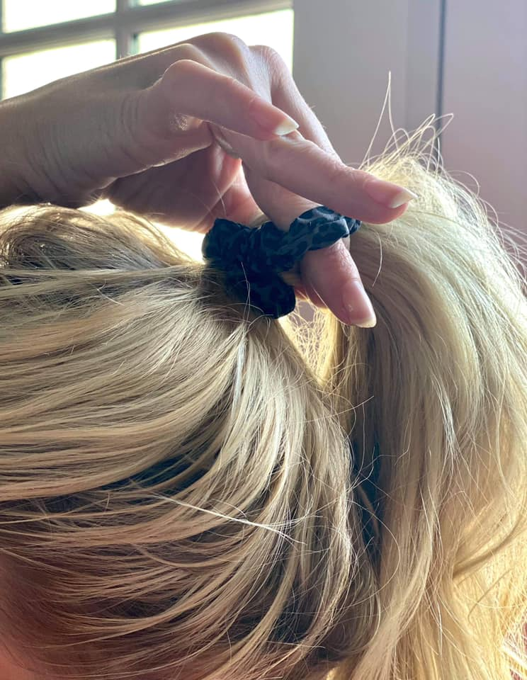 Boujie Bee 4 Pack Scrunchie Set