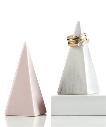 Ceramic Pyramid Ring Holder, Hats & More - Sweet Bee Boutique