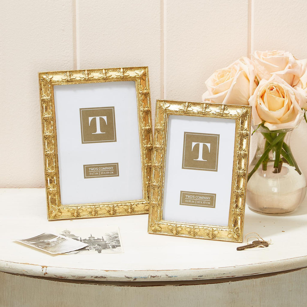 "Bee-utiful Bee Photo Frames | 2 Sizes: 4"" x 6"" and 5"" x 7"", Decor - Sweet Bee Boutique"